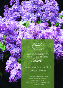 Soiree invite cover